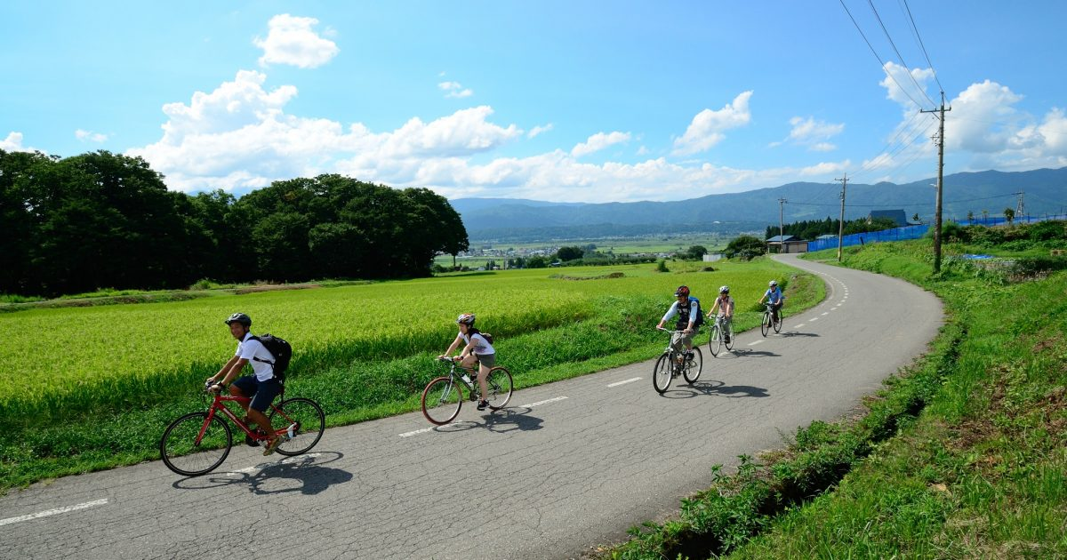 BTF Furusato Cycling Tour (Half-Day)【The 2020 tour is over】