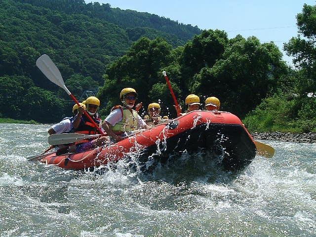 Chikuma River Family Rafting