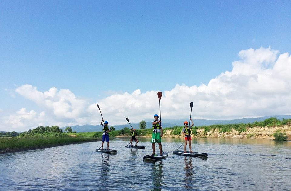 Stand Up Paddle Tour in Chikuma River