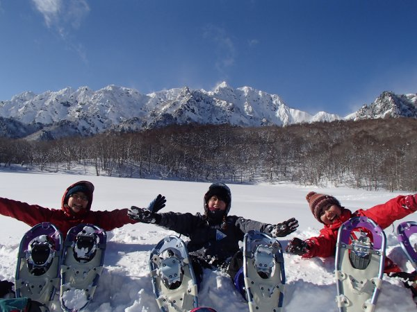 Snow shoeing in Paradice!!!