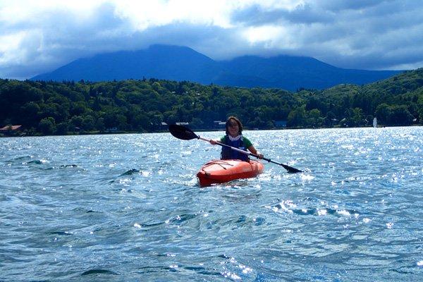 Lake Nojiri half day  Kayak Tour