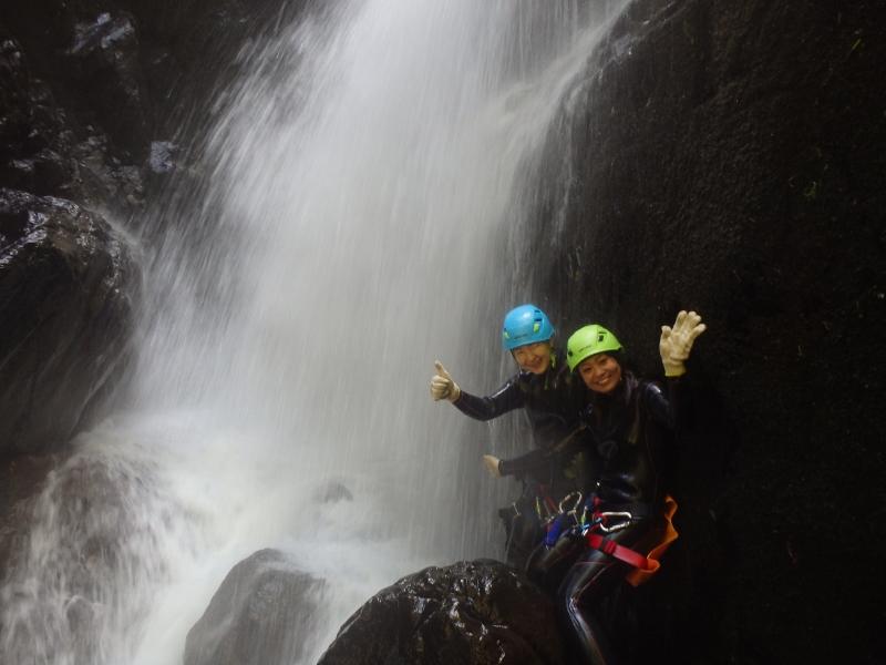 Shiga Kogen canyoning and shower climing tour