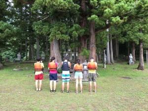 IMG_1009 北竜湖カヌー弁天島
